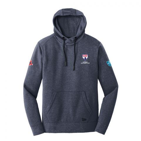 Men's New Era Navy Embroidered Hooded Sweatshirt